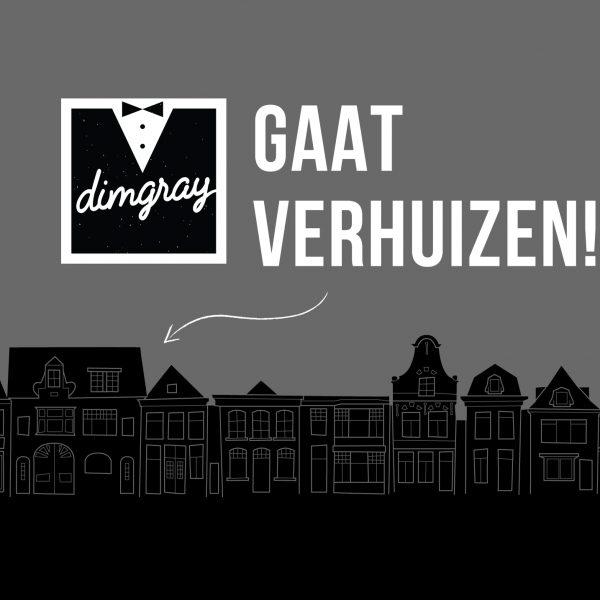 dimgray gaat vanaf september verhuizen naar de voormeer in Alkmaar.
