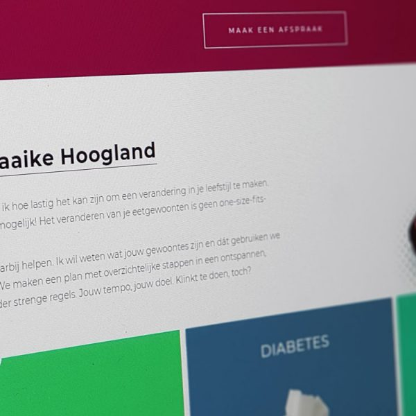 Website Startpunt Dietetiek