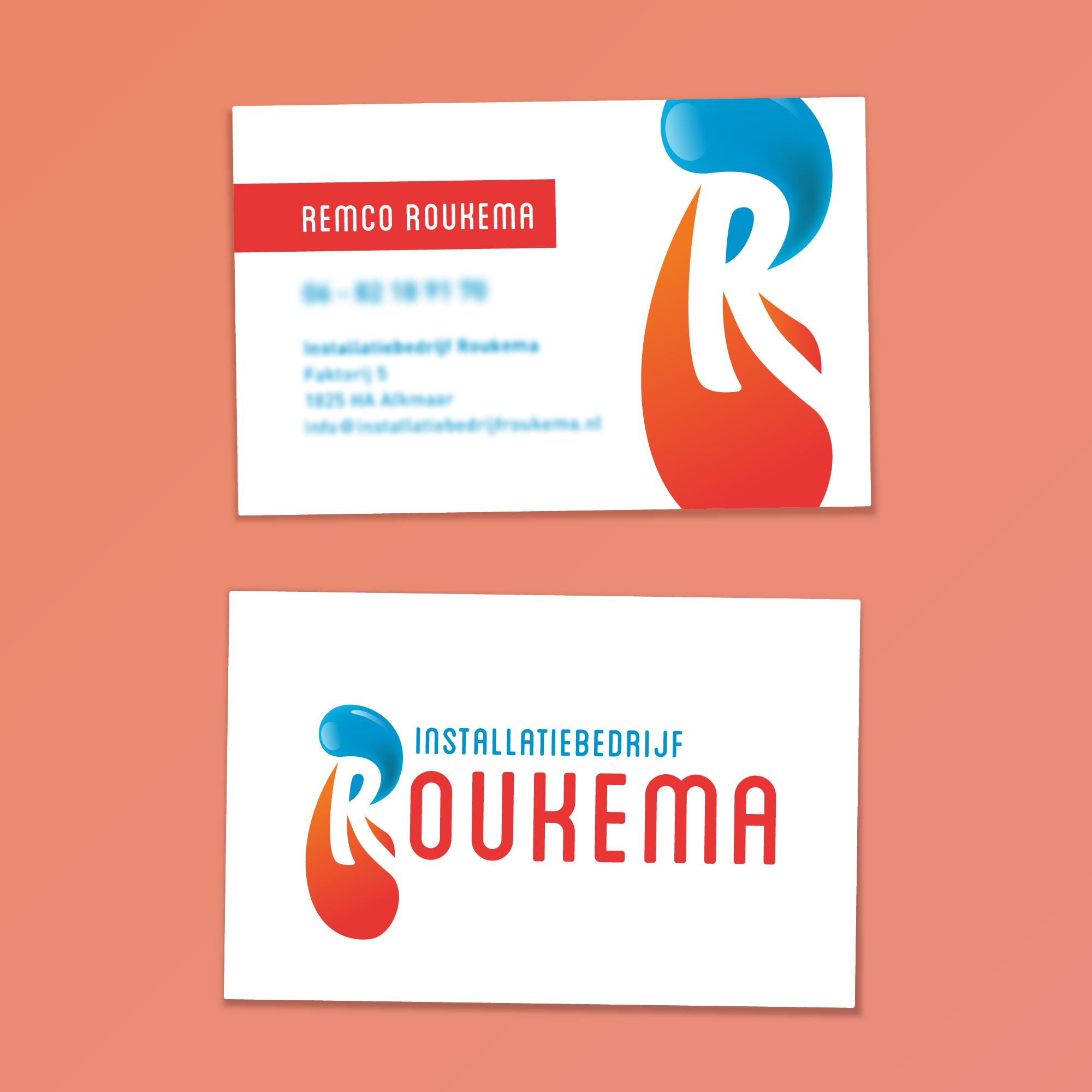 portfolio-dimgray-installatiebedrijf-roukema-visitekaartjes