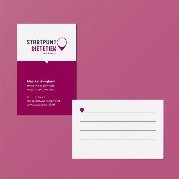 portfolio-dimgray-startpuntdietetiek-huisstijl-visitekaartjes-1