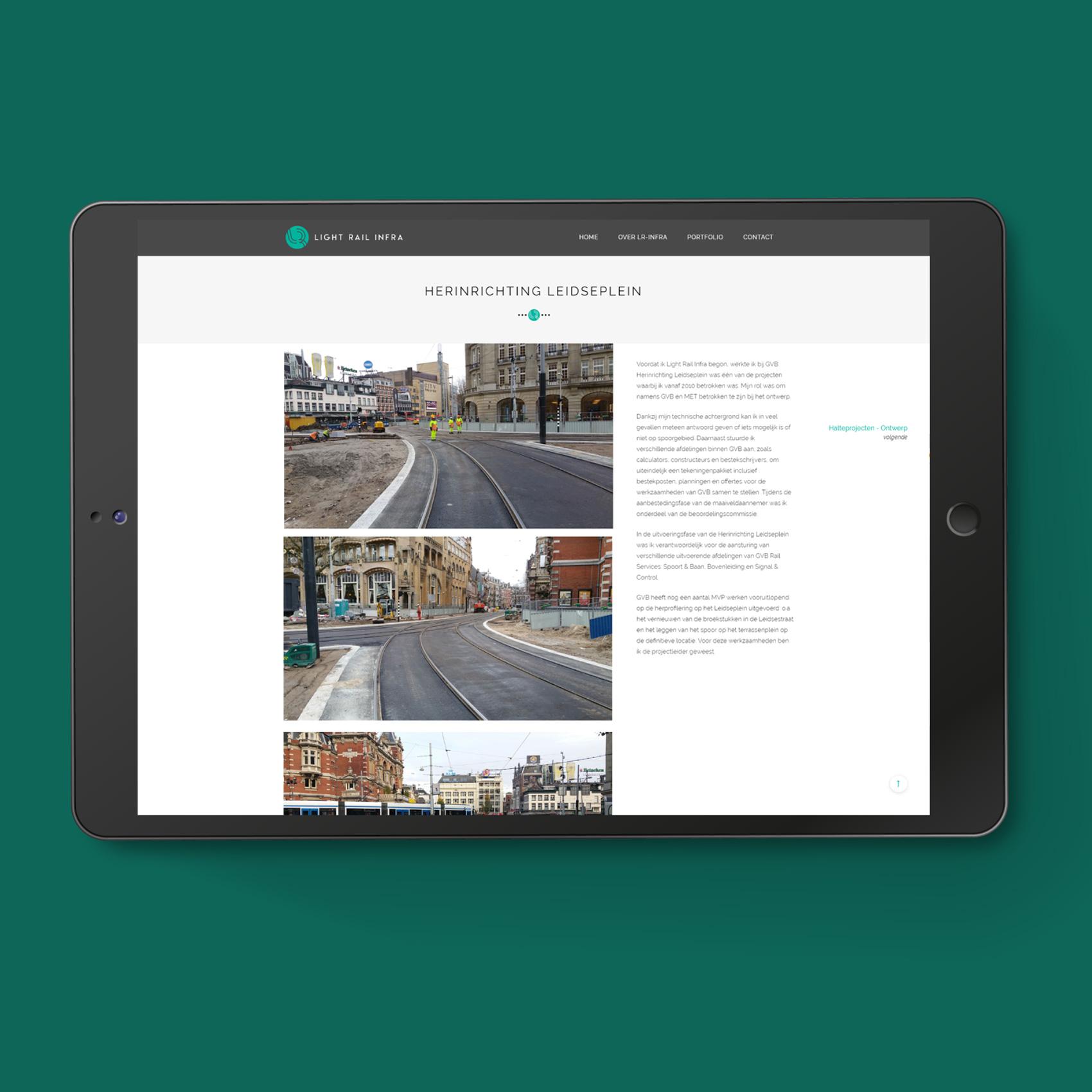 Webdesign LR-Infra