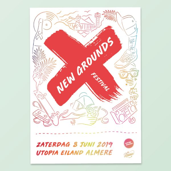 Poster New Grounds festival
